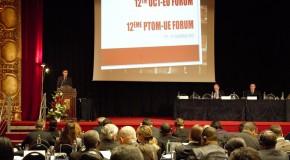 Discours d'ouverture du forum UE-PTOM