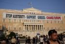 """Appel à Hollande: """"La place de la France est aux côtés du peuple grec"""""""