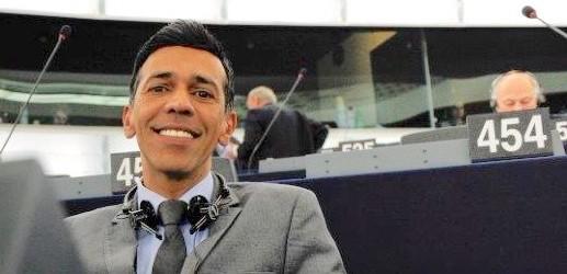 Younous Omarjee se rend en Sicile pour le Parlement européen