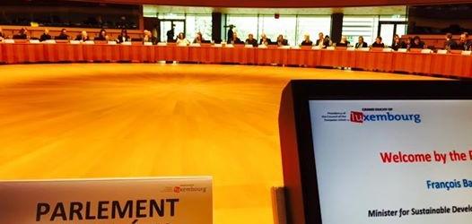Omarjee au Conseil des Ministres au Luxembourg