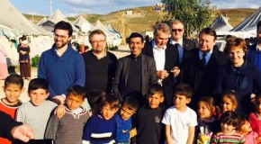 Younous Omarjee en Turquie pour évaluer l'aide de l'UE aux réfugiés