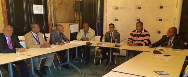 Rencontre de Younous Omarjee avec une délégation de Mayotte sur la situation dans l'île